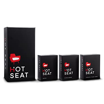 Hot Seat - The Adult Party Game About Your Friends (The complete card game set) [Version Anglaise]