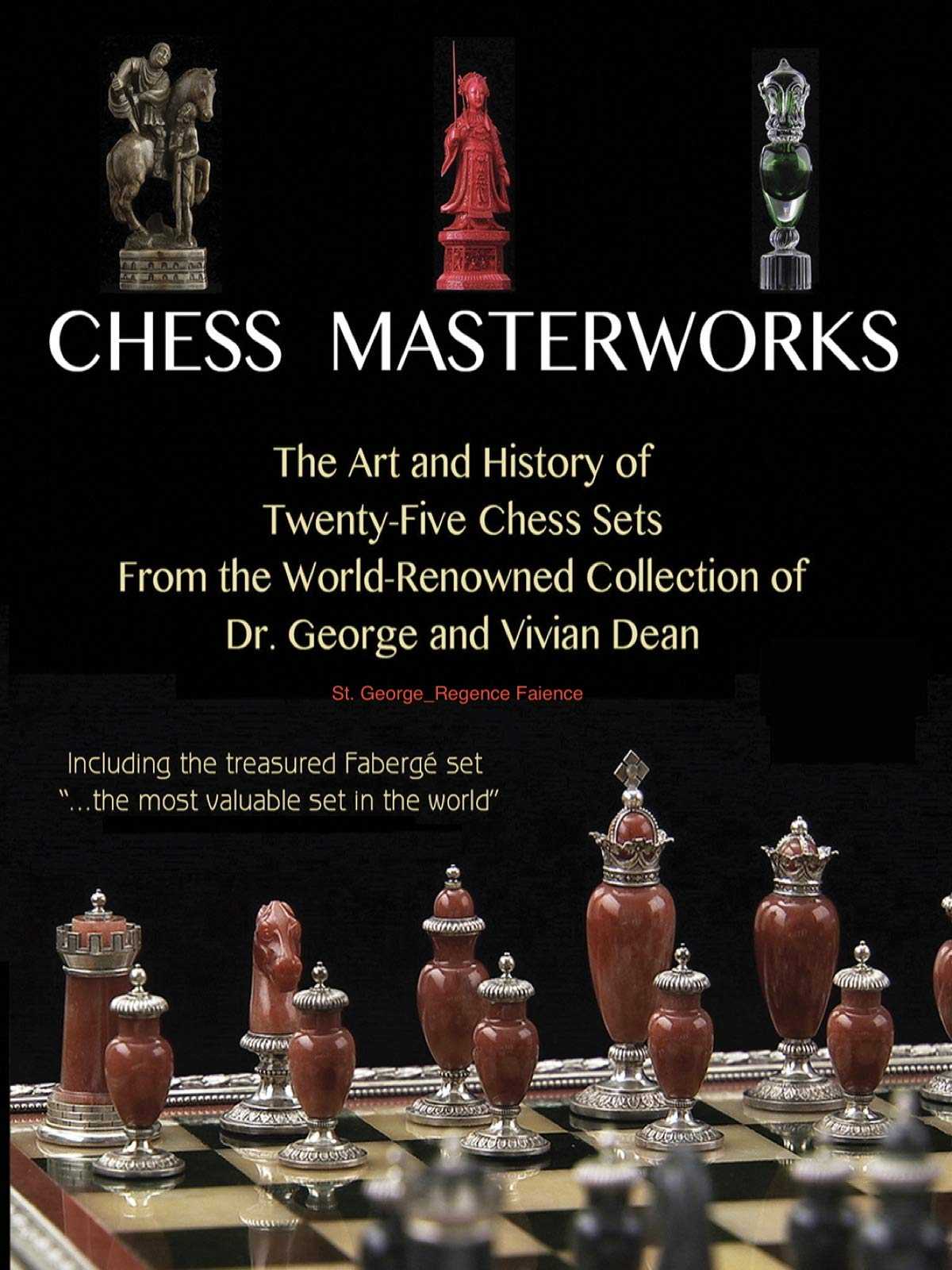Chess Masterworks: St. George_Regence Faience on Amazon Prime Video UK