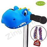 Dinosaur Toys Gifts for Boys,Kids T-Bar Kick Scooter Bike Pogo Stick Accessories Unicorn Pony Horse Dinosaur Head for Boys Girls Kids Gifts Presents