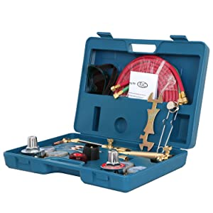 ZENY NEW Portable Gas Welding Cutting Torch Kit w//Hose, Oxy