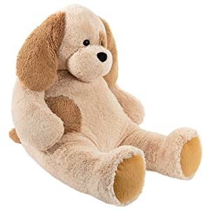 Vermont Teddy Bear Stuffed Dog - Large Stuffed Animals, 4 Foot, Cuddle (Color: Puppy)