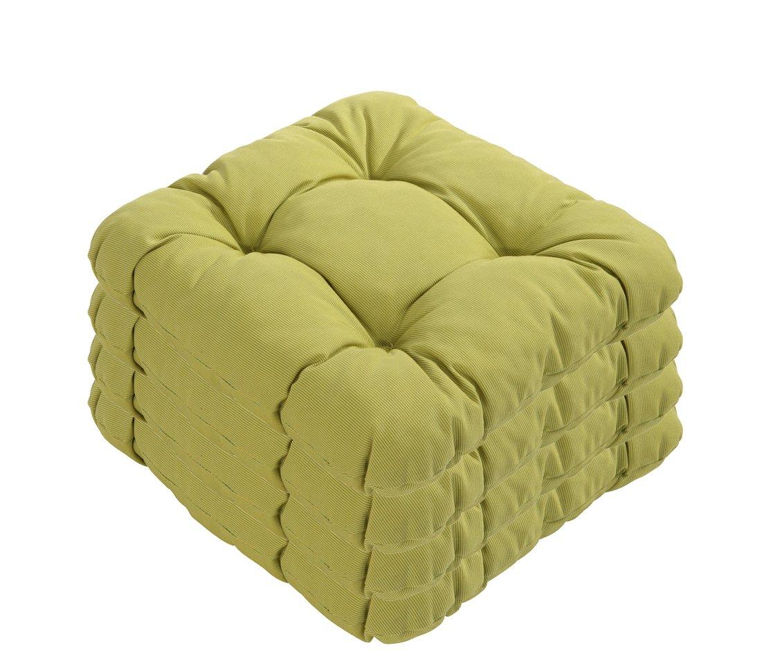 Dehner Susa-Sitzkissen, 4 Stück, je ca. 38 x 38 cm, grün jetzt bestellen