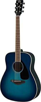 Yamaha FG820 Acoustic Guitar   Sunset Blue available at Amazon for Rs.44890