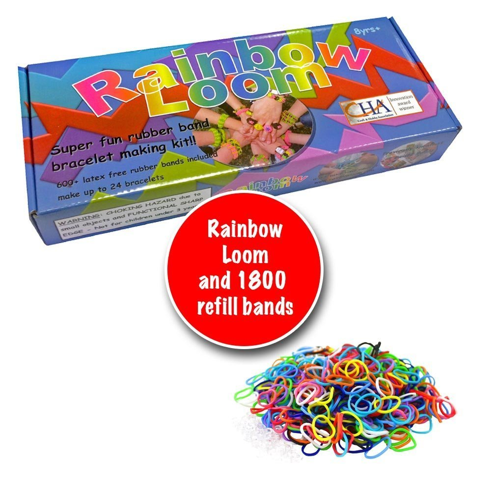 Rainbow Loom Rubber Band Bracelet Starter Kit 13 43