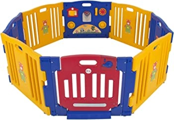 Baby 8-Panel Safety Play Center Yard