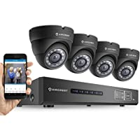 Amcrest Tribrid HDCVI 4-Channel 4-Camera DVR Surveillance System