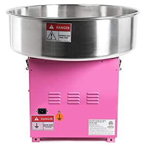 Olde Midway Commercial Quality Cotton Candy Machine and Electric Candy Floss Maker - SPIN 2000 (Tamaño: Without Cart)