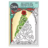 Sizzix 661633 Christmas Coloring Cards by Jen Long