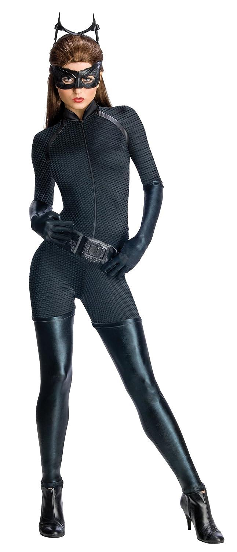 Batman The Dark Knight Rises Secret Wishes Adult Catwoman Costume: Adult Sized Costumes