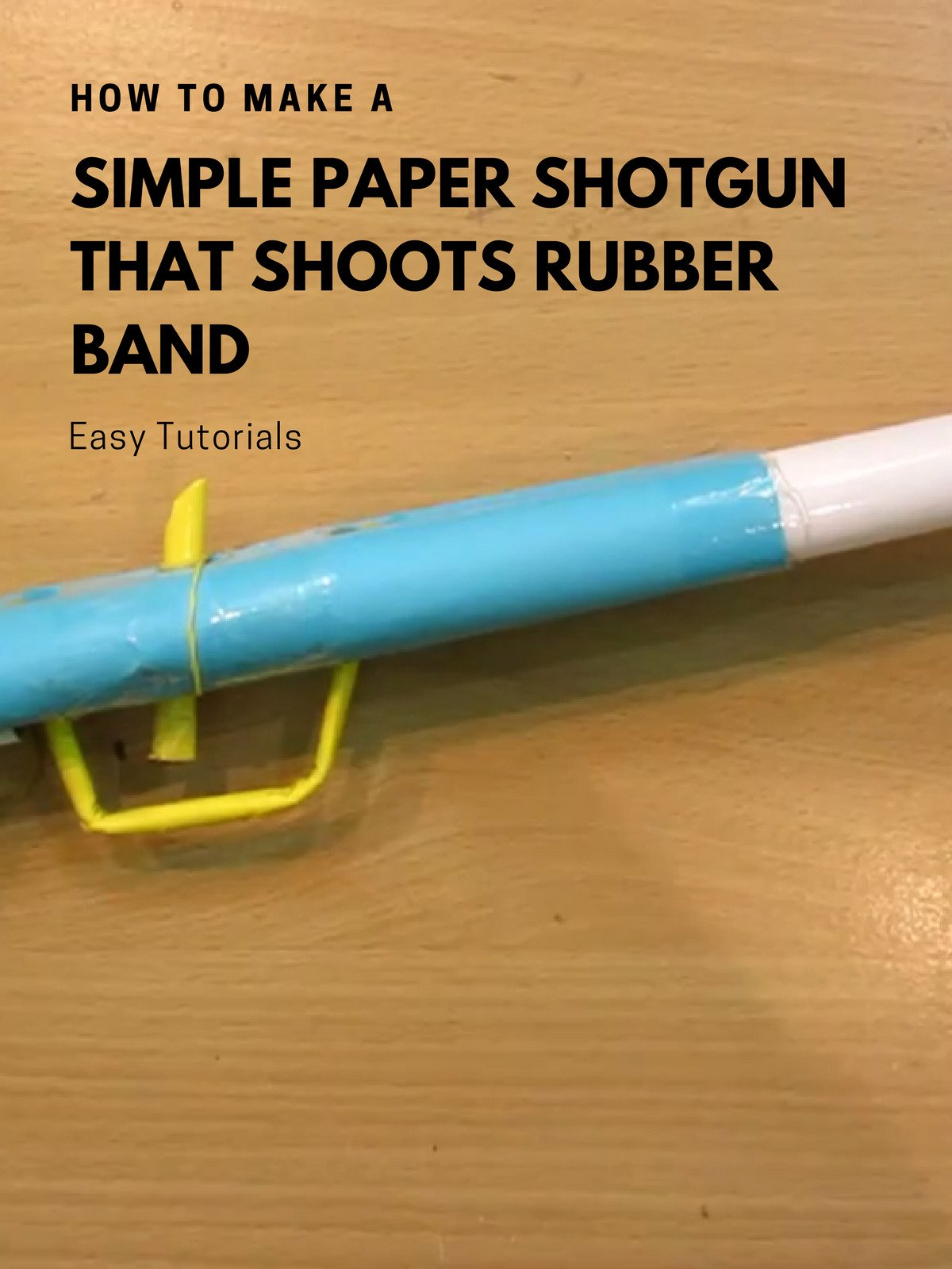 How to Make a Simple Paper Shotgun that Shoots rubber band on Amazon Prime Video UK