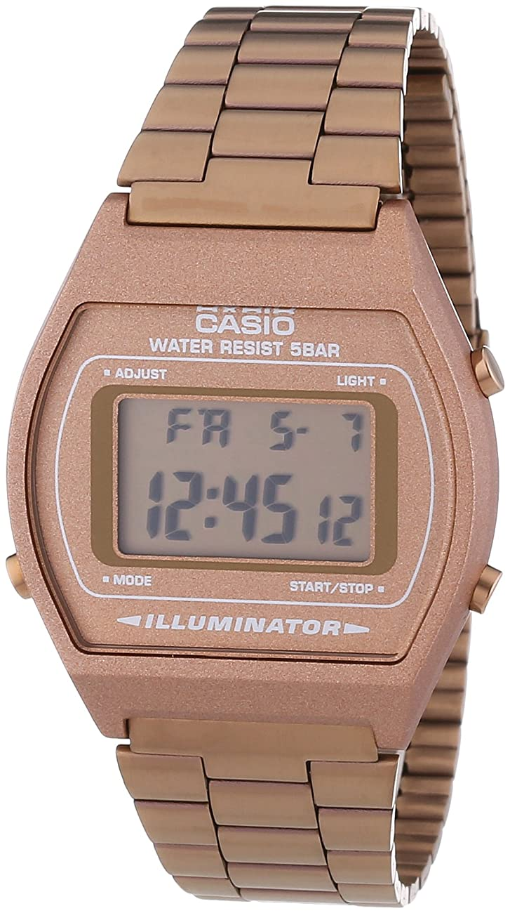 Casio B640WC-5AEF Ladies Retro Digital Watch 0
