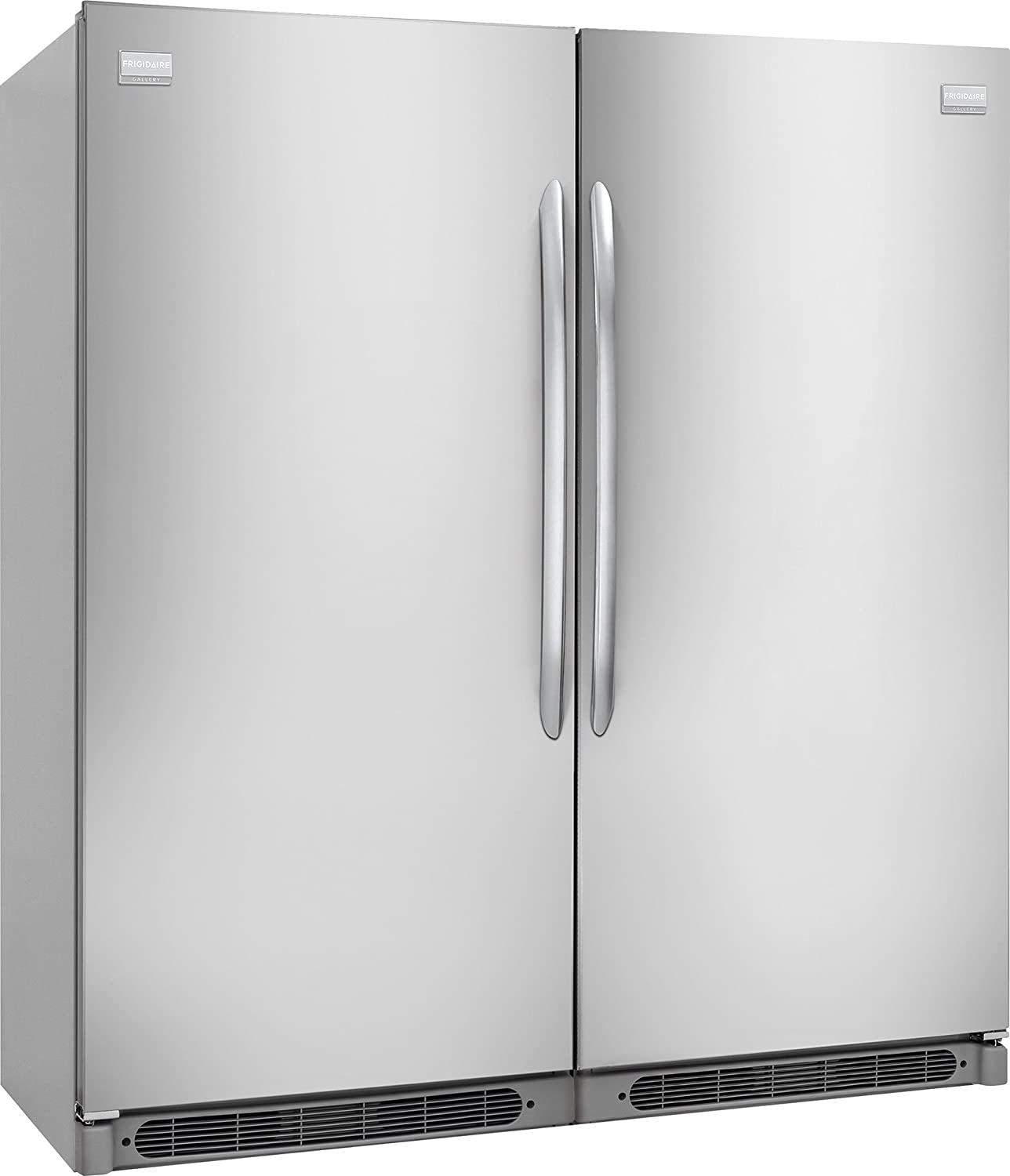 Frigidaire Gallery Series Built-In All Refrigerator, All Freezer Combo Unit with Easy Care Stainless Steel (FGRU19F6QF_FGFU19F6QF)