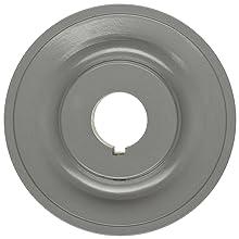 """TB Woods 2BK50118 FHP Bored-To-Size, 4.75"""" Outside Body Diameter, 1.125"""" Bore Diameter V-Belt Sheave"""