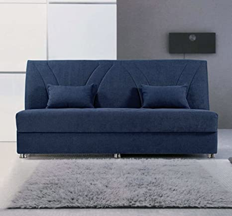 "Sofa bed 3 seater ""Megan"" with storage compartment"