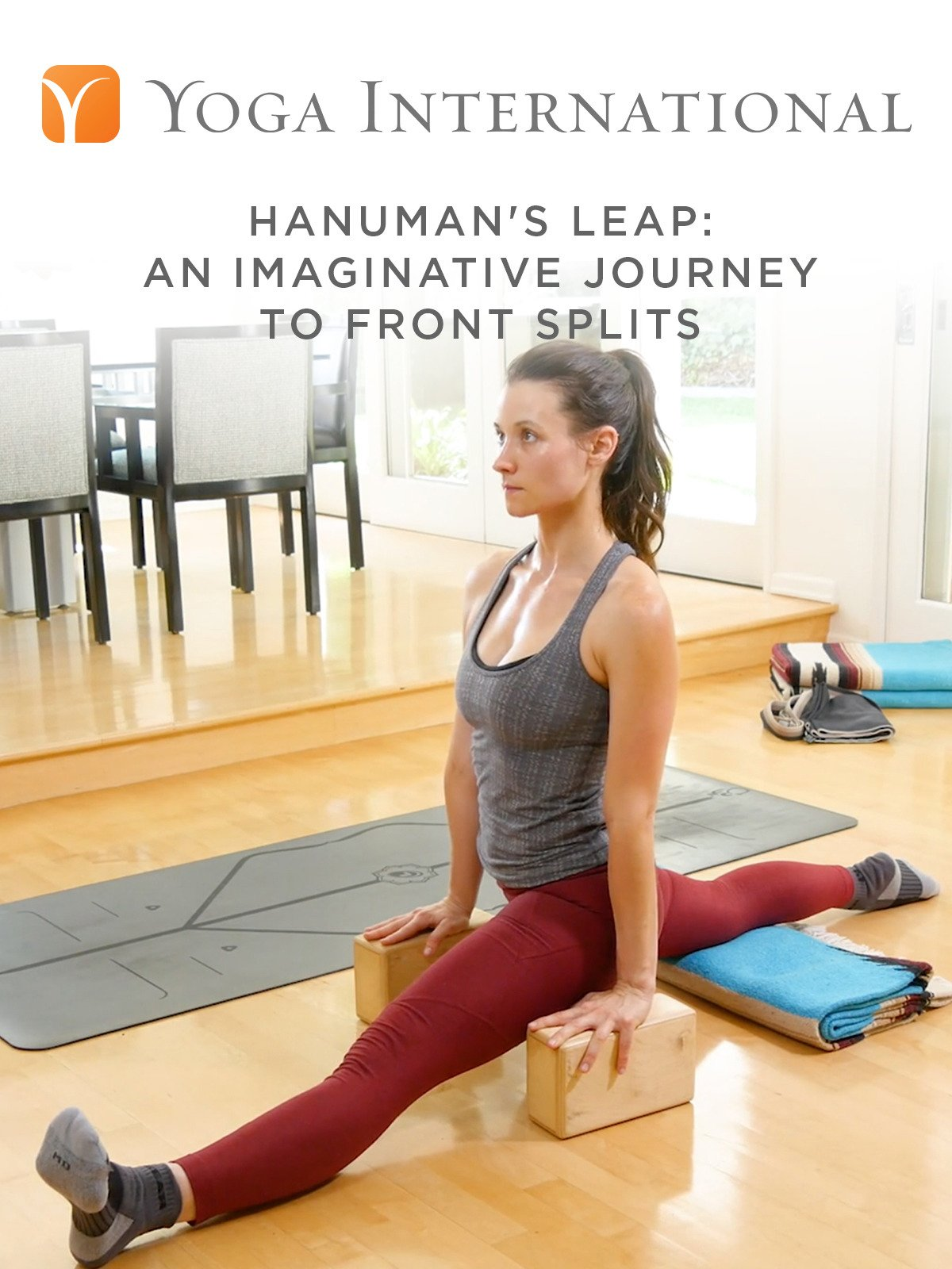 Hanuman's Leap: An Imaginative Journey to Front Splits
