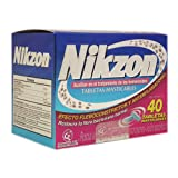 Nikzon 40 Chewable Tablets for Hemorrhoids