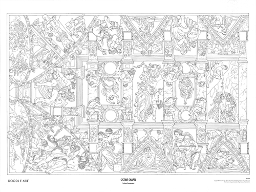 Free Coloring Pages Of Sistine Chapel