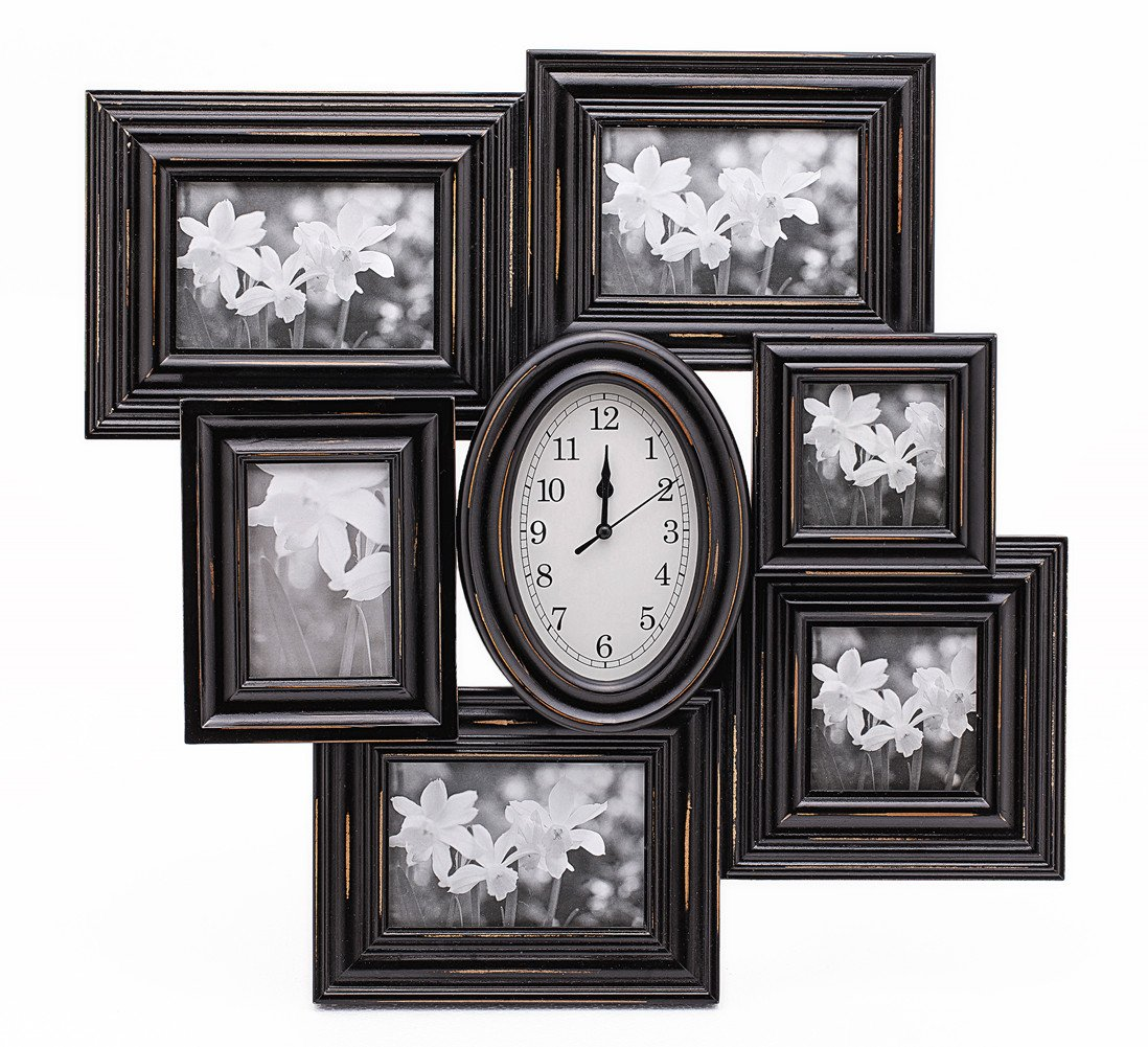 Zingvic High End Decorative Black Wood Collage Picture Photo Frame