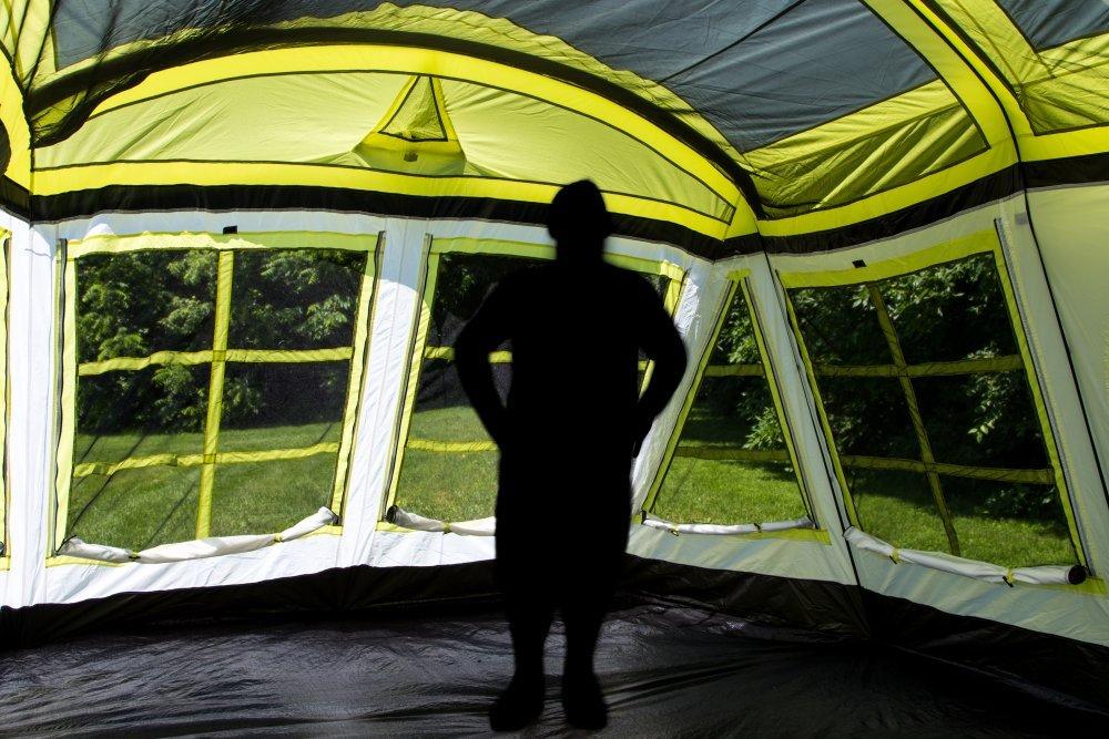 Interior of the Tahoe Gear Glacier Tent