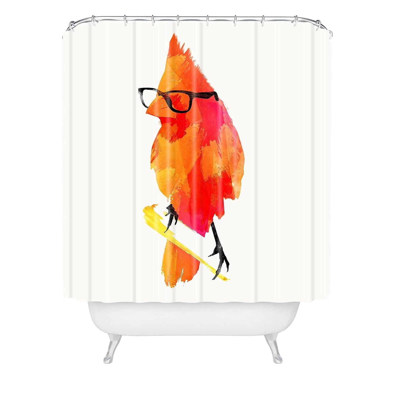 Robert Farkas Punk Bird Shower Curtain, 69 by 72-Inch