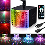 DJ Lights, SOLMORE Party Lights DMX512 Sound Actived Stage Disco Lights with Remote Control for Dance Parties Bar Karaoke Xmas Wedding Show Club 18W (Color: Dj Lights)
