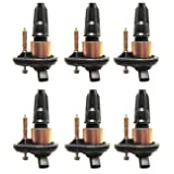 Pack of 6 Ignition Coils for Chevy - Trailblazer - Envoy - Chevrolet GMC Isuzu Olds Saab Compatible with UF303 C1395 UF-303