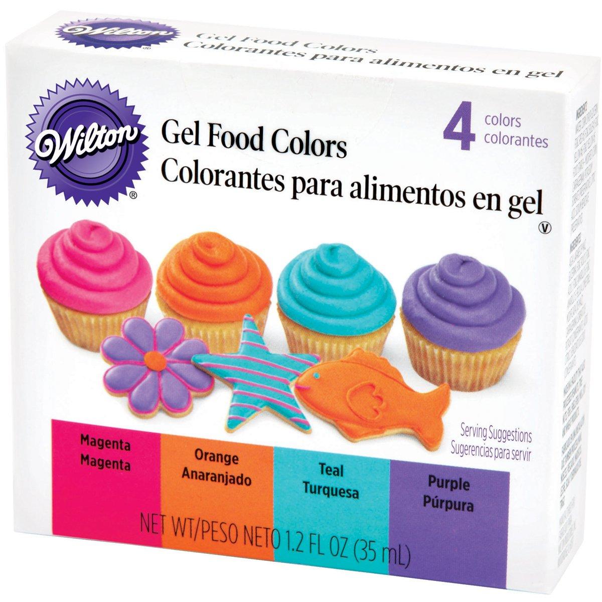wilton gel food color sets