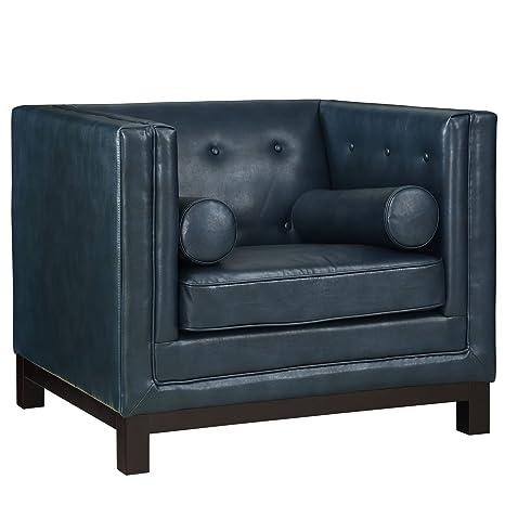 LexMod Imperial Armchair, Blue