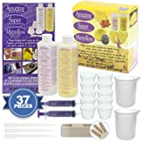Alumilite Amazing Casting Resin 16-Ounce and Amazing Mold Putty with Resin Mixing Kit, 10x 1-Ounce Disposable Plastic Cups, Mixing Sticks, 100ml Silicone Measuring Cup Beaker, 10ml Syringes, Pipettes