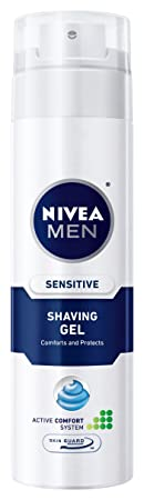 Amazon - Nivea For Men Sensitive Shaving Gel, 7-Ounce - $1.73