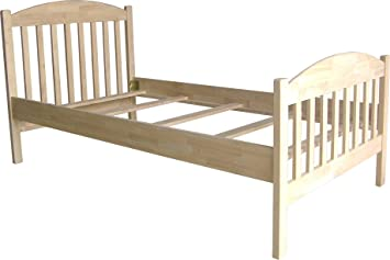 International Concepts Unfinished Bed, Twin