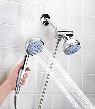 Sunbeam 5 Function Deluxe Dual Head Shower Massager