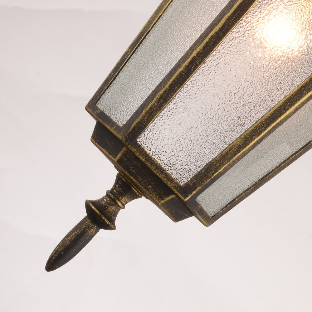 NATSEN Vintage Village Wall Sconce 1-Light Wall lamp E26 Metal max E26 60W bulb 3