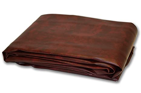 brown pool table cover