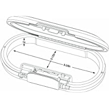 Master Lock 5900DPNK Portable Personal Safe, Pink