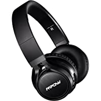 Mpow Thor Over-Ear Wireless Bluetooth Foldable Headphones with Mic and Wired Mode (Black)