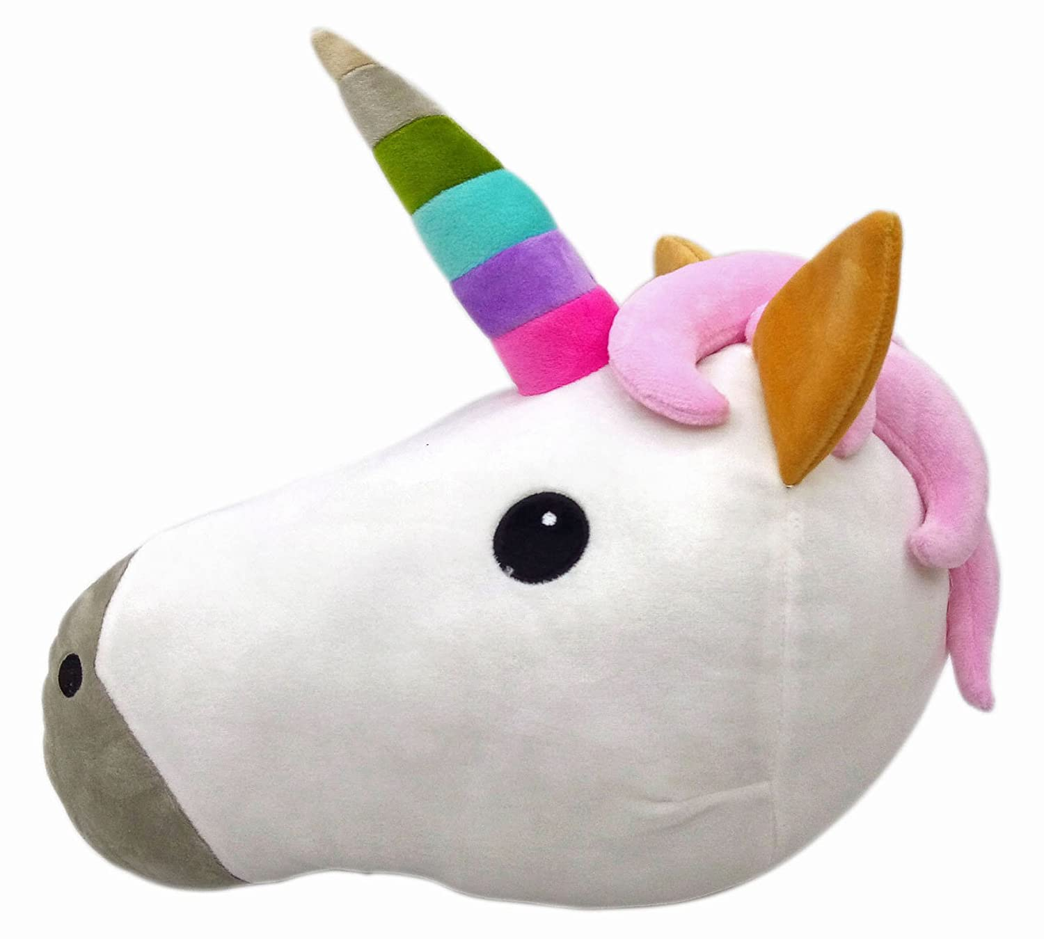 WEP Unicorn Emoji Pillow Smiley Emoticon Cushion Stuffed Colorful Plush Toy 32cm New