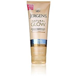 Jergens Natural Glow Firming Moisturizer, Fair to Medium Skin Tones width=
