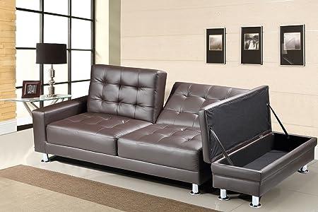 Knightsbridge sofá cama - marrón