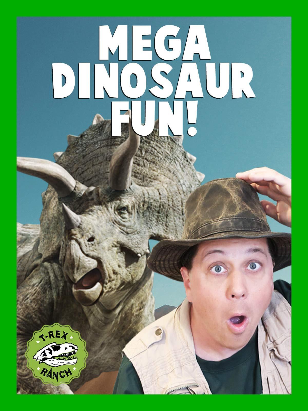 Mega Dinosaur Fun T-Rex Ranch