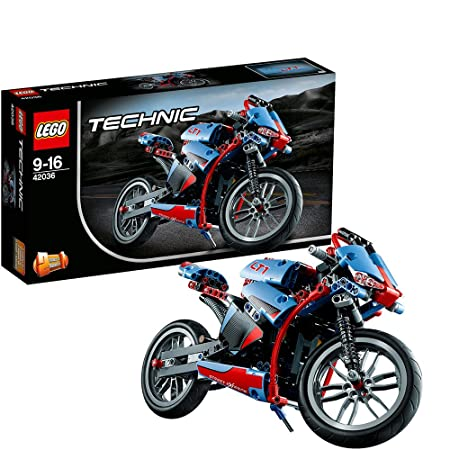 LEGO Technic - 42036 - Jeu De Construction - La Moto Urbaine