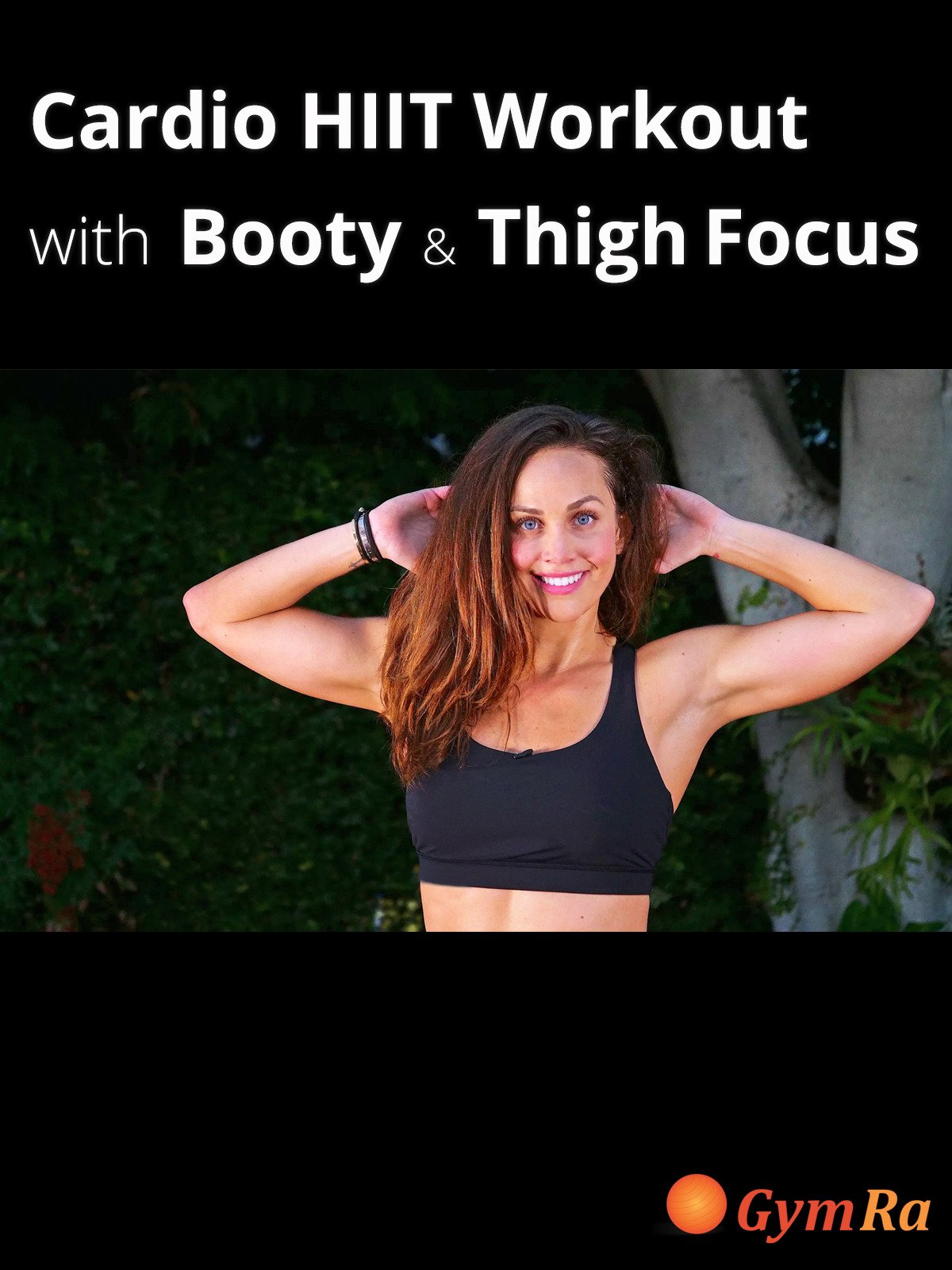 Cardio HIIT Workout with Booty & Thigh Focus
