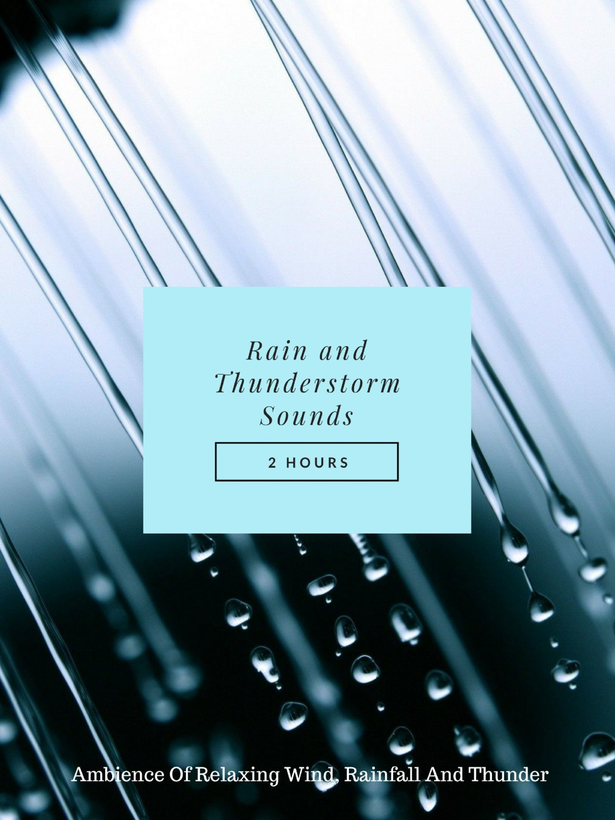 Rain and Thunderstorm Sounds on Amazon Prime Instant Video UK