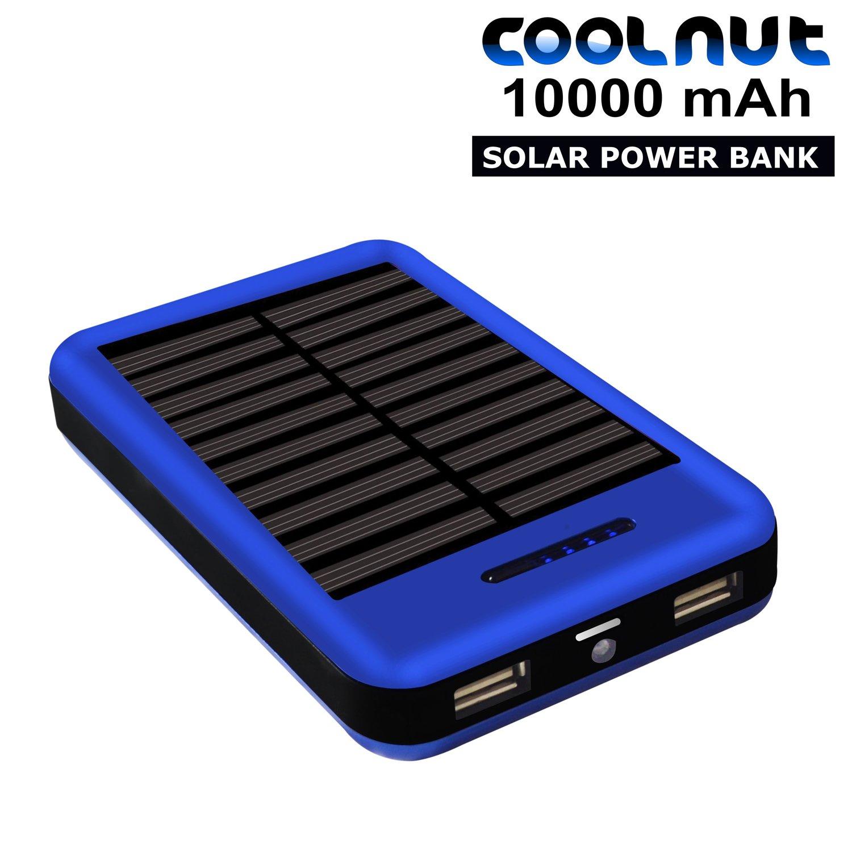 coolnut solar power bank 10000mah complete kit adapter. Black Bedroom Furniture Sets. Home Design Ideas