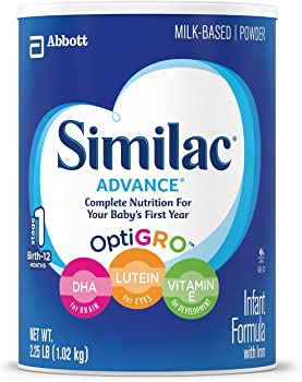 3-Pk. Similac Advance Infant Formula with Iron