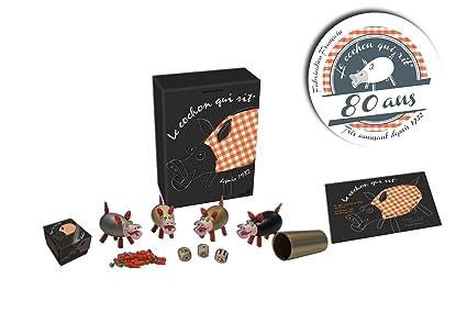 Dujardin - 10010 - Jeu de Société - Le Cochon qui Rit - Collecter Edition Limitée