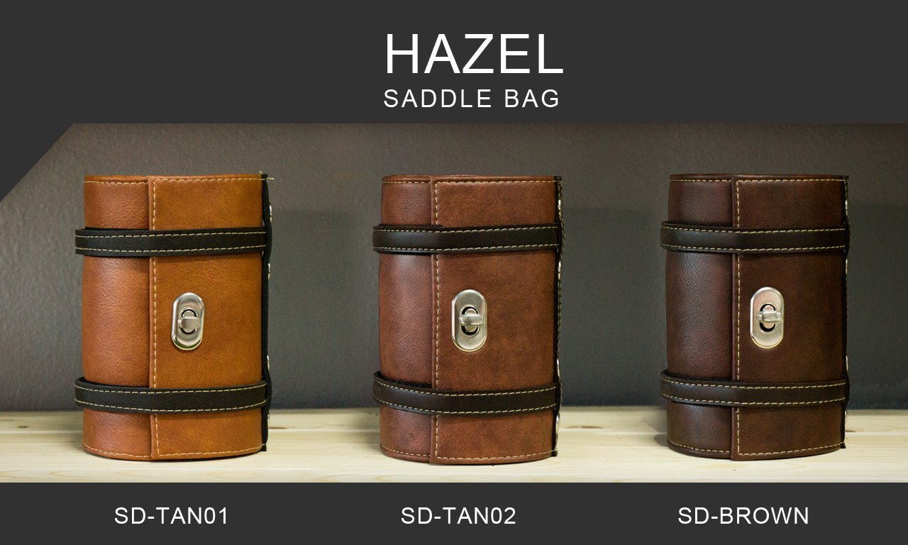 Hazel Design - Vintage Bicycle Saddle Tools Bag 5