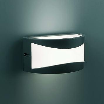 Design in acciaio inox Lampada Esterna Lampada Esterna Lampada da giardino Lampada Muro Lampada Vetro 392