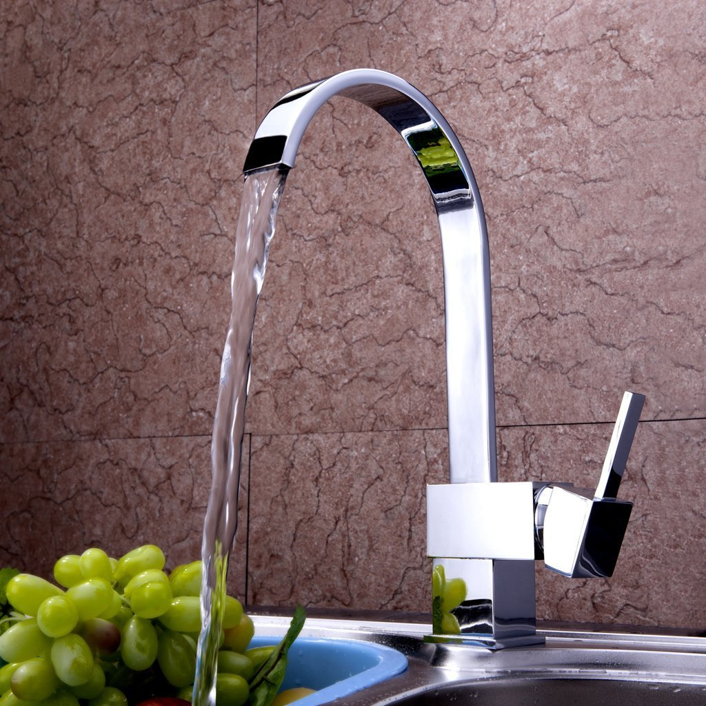 Single Handle Bar Pull-Down Spray Head Kitchen Faucet