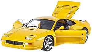 Hot wheels X5479 Ferrari F355 Berlinetta Yellow Elite Edition 1/18 Diecast Car Model by Hotwheels